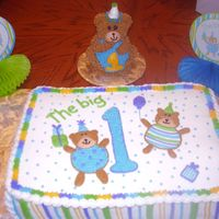 Bear 1St Birthday Made to compliment party theme