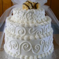 Wedding Cake With Hay Bales