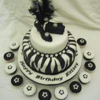 13Th Birthday Cake done this cake for my friends daught first time i did zebra print