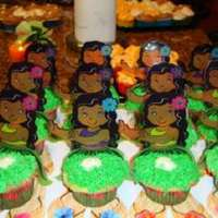 Margarita Cupcakes Made these for a Luau - they were a big hit -