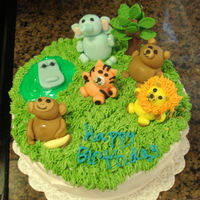 Kids Zoo Birthday Cake