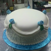 Practice Cake First lesson at Kreative Kakes Bakery