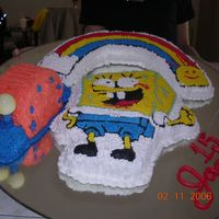 Another Spongebob And Gary Cake 2