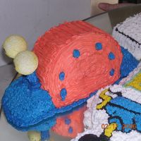 Another Spongebob Squarepants And Gary Cake
