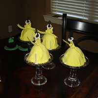 Yellow Cakelet Dresses  Since I and my 3 sisters birthdays are close, we celebrate together. I made these for last years big celebration. I made the bodice's...