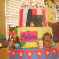 Circus Cake Made this for my friends daughter..got a lot of great ideas fom CC...Thanks!