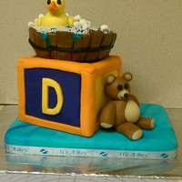 Rubber Ducky   My 2nd baby shower cake