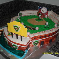 Sf Giants At&t Park This cake is larger than you may think. measures 20x28 inches at it's widest parts.