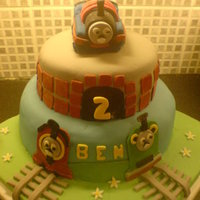 Thomas The Tank Engine This was for my best friends son!