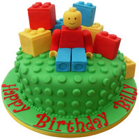 Lego Cake This is the first time I have uploaded one of my cakes on here :-) This one I did for my friends little boy who loves lego.