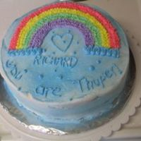Rainbow Cake.... Going out to my man, Richard Simmons!