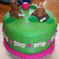 Puppy Cake For My Nieces Birthday