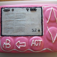Diabetic Insulin Pump a co-workers daughter wanted her insulin pump done as a cake...this is what I came up with...