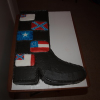 Confederate Boot