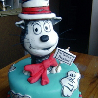 Cat In The Hat Every year my preschool age daughter and I celebrate the GREAT Dr. Seuss with a cake. This is this years. We are going to surprise her...