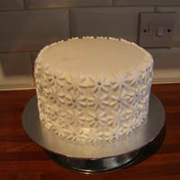 "Double Lemon Cake Double Lemon Cake, 7"" Double Lemon Cake donated for a Fund Raising Event"