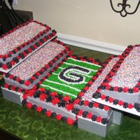 Ga Bulldogs Stadium Cake