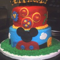 Mickey Mouse Clubhouse Cake Mickey Mouse Clubhouse Cake