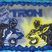 Tron All Buttercream