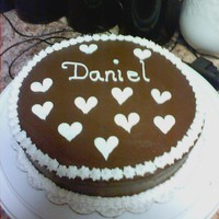 Chocolate Wasc With Chocolate Buttercream wow this is my first cake made for the wilton basics class. i was surprised in the way it came out did think i would do this good. i made...