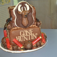 A Happy Birthday Hunting Cake!!!