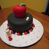 Twilight Birthday Cake  I had two hours to make this and I think I pulled it off not too bad for a rushed cake. Next year I would love to do a tiered option. It...