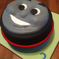 Thomas The Train Cake I made this for my friends son, it was was his second birthday. I had planned to make a rice krispy smoke stack but I ran out of time. This...