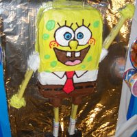 Ds 8Th Birthday Spongebob I love this cake - funfetti inside with canned (I know!) frosting. This was before I found CC, and discovered the joys of a good BC. Anyway...