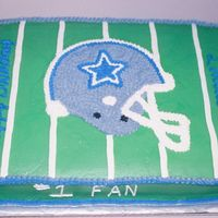 Cowboys Cake This was made for a coworker that hates the cowboys, so of course we threw her a cowboys birthday party. She loved it too