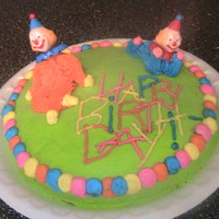 Clown Cake This cake I made to give away at a homeless dinner.It's really fun, and only took 20 minutes for me to decorate (Not including the...