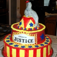 Justice's 1St Birthday