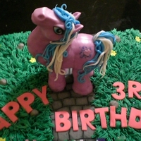 All Edible, My Little Pony Cake