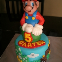 Mario Cake all edible