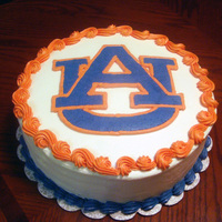 War Eagle!   WASC with vanilla buttercream icing. Logo is FBCT.