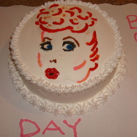 I Love Lucy Cake Whipping Cream
