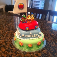 Wonder Pets Cake I created this wonder pets cake for a little girl's 2nd birthday. Her father contacted me and asked me to create a cake based on a...