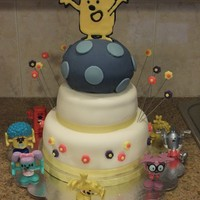 Wow Wow Wubbzy Cake I made this Wow Wow Wubbzy cake for my daughter's 3rd birthday party. Wubbzy is a flat sugar image made of Royal Icing and Color Flow...