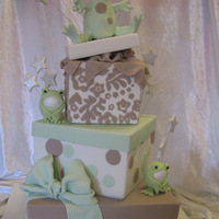 Welcome Madalyn   Baby shower cake