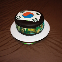 Welcome Home From South Korea!  I made this cake for my Dad when he came home from South Korea. He works for an army depot and is usually gone for most of the year. This...