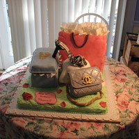 Fashionista This cake is one I made from a design on The Cake Boss.