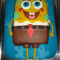 Spongebob Squarepants   A chocolate cake filled with vanilla cream and chocolate mousse