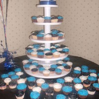 Kaitlin's Cupcake Tower Fun cupcake tower i did for a friend's daughters 16th birthday bash! So much fun....so many cupcakes!