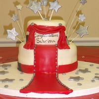 Star Sabrina I made this for my daughter's best friend's bridal shower. The theme was Old Hollywood where Sabrina was the star. Red Velvet w/...