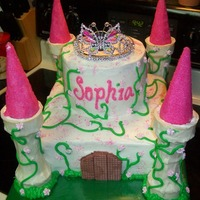 Castle Loved the way this cake came out but beware colored sugars! They started to weep due to the humidity. Luckily the delivery spot was a...