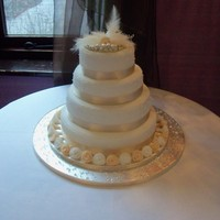 4 Tier Wedding Cake 4 tier wedding cake