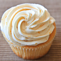 Vanilla Cupcake With Swiss Meringue Buttercream Frosting   Vanilla cupcake frosted with Swiss Meringue Buttercream