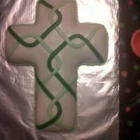 Celtic Cross Cake