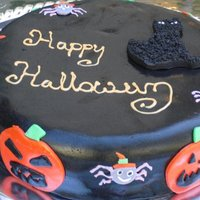 Halloween chocolate Fondant , very yumy