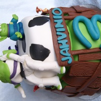 Toy Story Cake A toy Story cake for a 3rd birthday