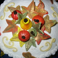 Fall   Fondant flowers, pumpkins, gords and other such things